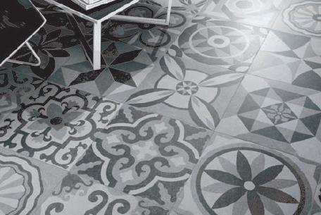 vintage bodenfliesen w rmed mmung der w nde malerei. Black Bedroom Furniture Sets. Home Design Ideas